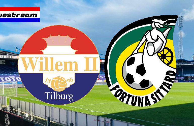 Eredivisie livestream Willem II - Fortuna Sittard