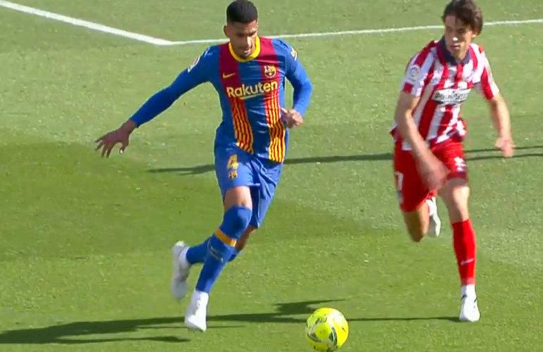 Geen doelpunten bij Barcelona - Atletico
