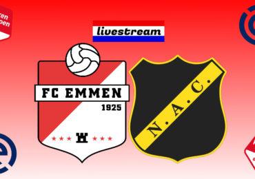 FC Emmen - NAC Breda gratis livestream