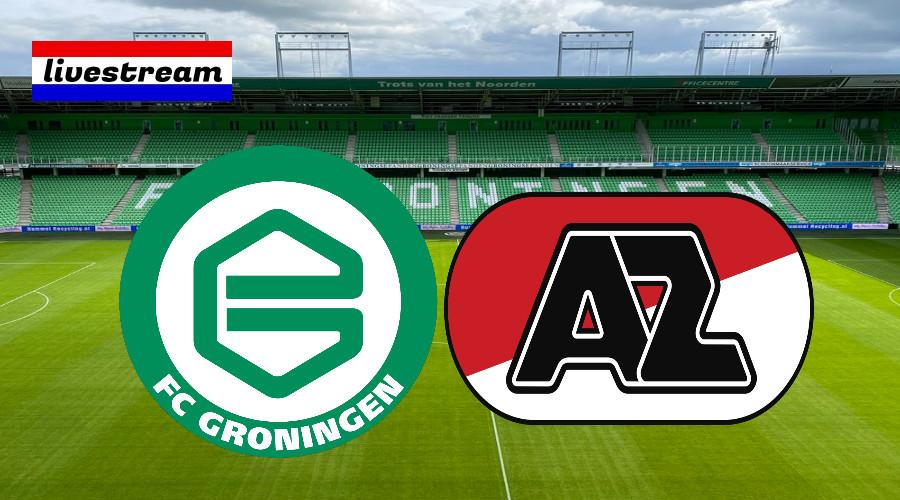 FC Groningen - AZ Alkmaar eredivisie livestream