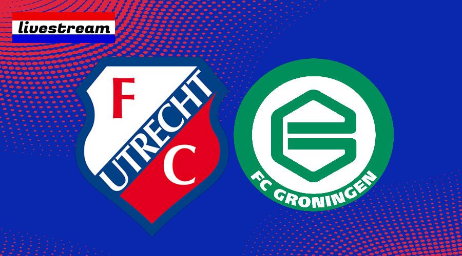 FC Utrecht - FC Groningen kijken via livestream