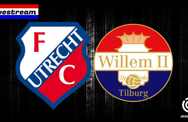 Kijk hier via een live stream FC Utrecht - Willem II