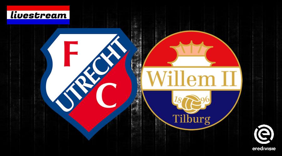 FC Utrecht - Willem II kijken via een live stream