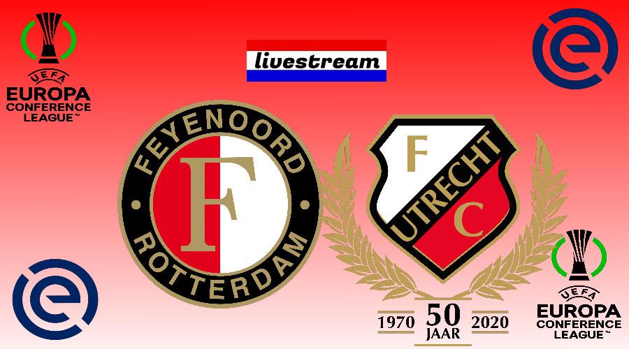 Feyenoord - FC Utrecht gratis livestream