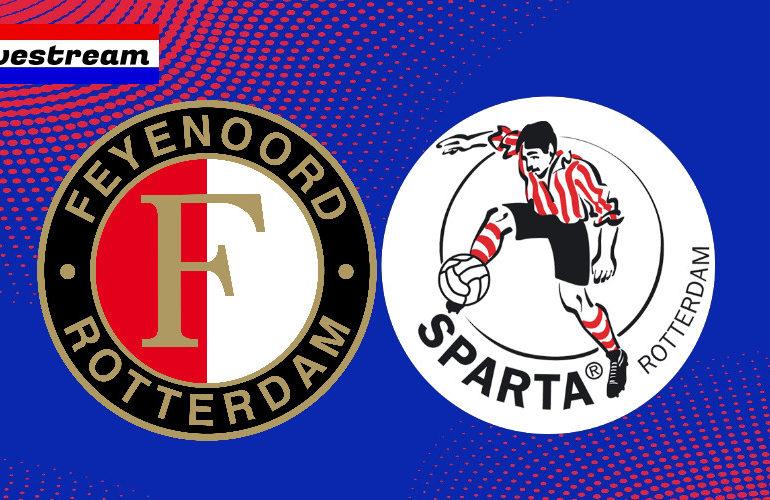 Feyenoord - Sparta kijken via een livestream