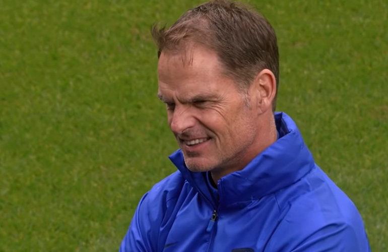 Frank de Boer stapt op als bondscoach van Oranje