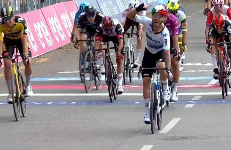 Nizzolo winnaar dertiende etappe Giro d'Italia