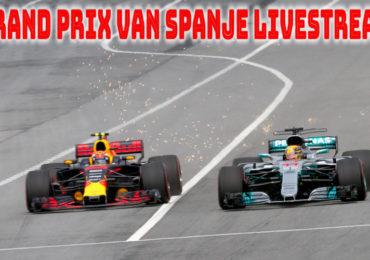 Grand Prix van Spanje live stream