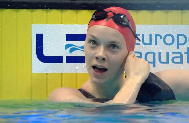 Groot-Brittannië klopt Nederland in finale 4x100 wisselslag