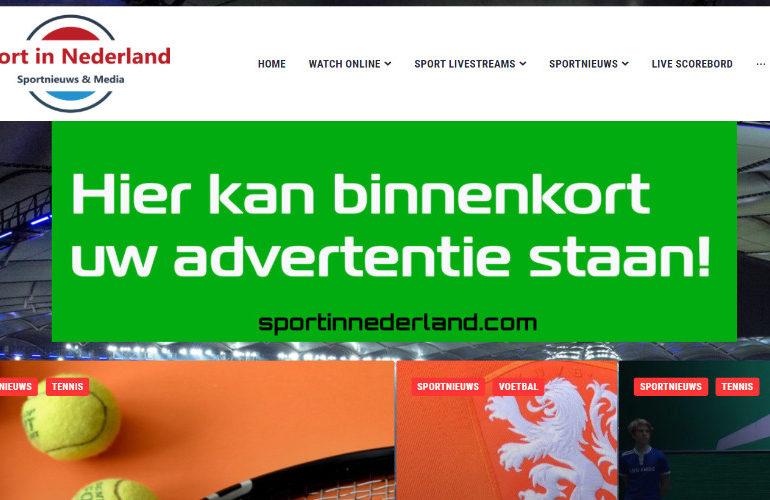 Juni actie! Adverteer nu een maand gratis via Sport in Nederland