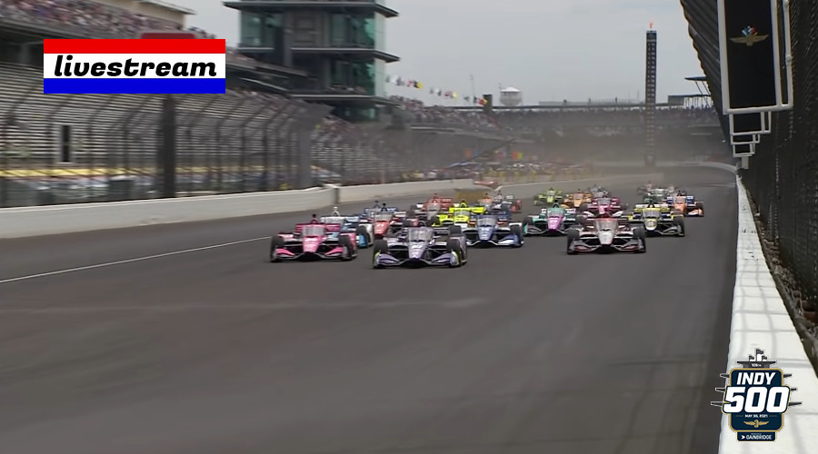 Indy 500 gratis kijken via een live stream