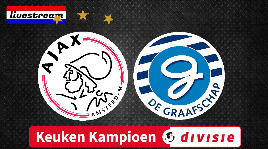 KKD livestream Jong Ajax - De Graafschap