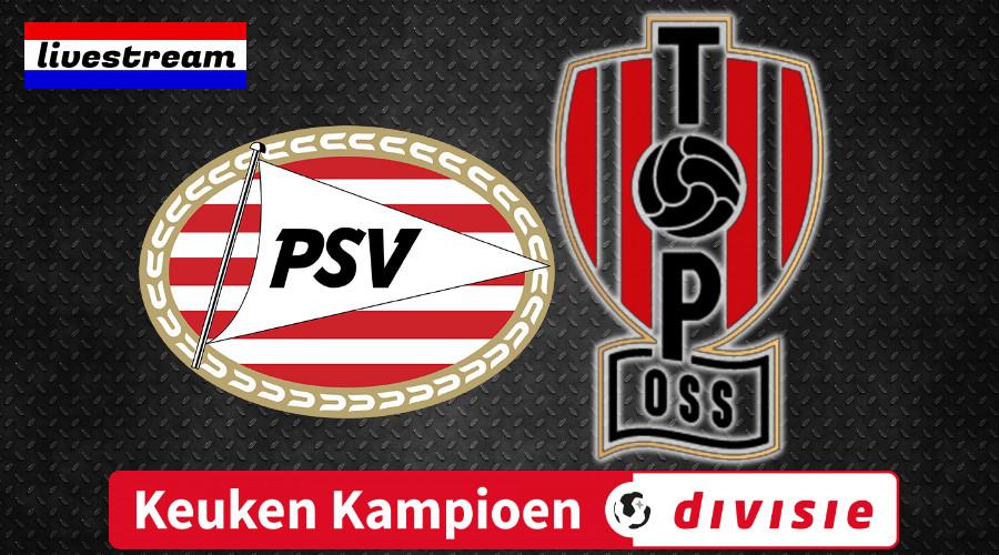 Jong PSV - TOP Oss gratis live stream