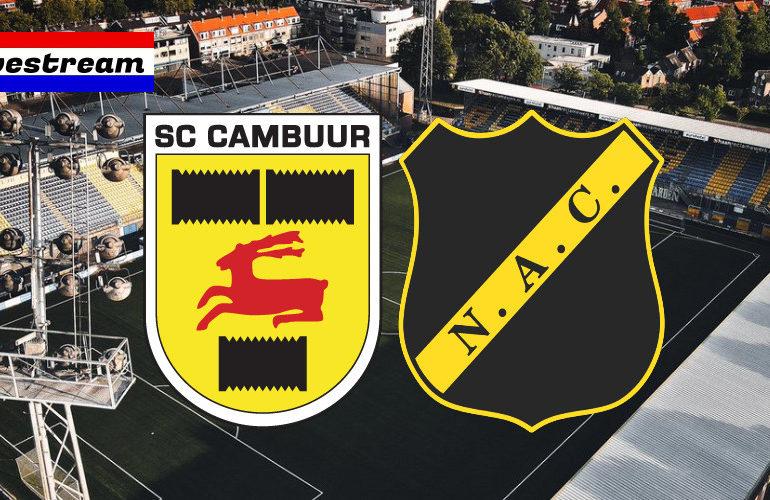 KKD livestream Cambuur - NAC