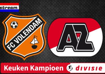 KKD livestream FC Volendam - Jong AZ