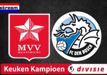 KKD livestream MVV - FC Den Bosch