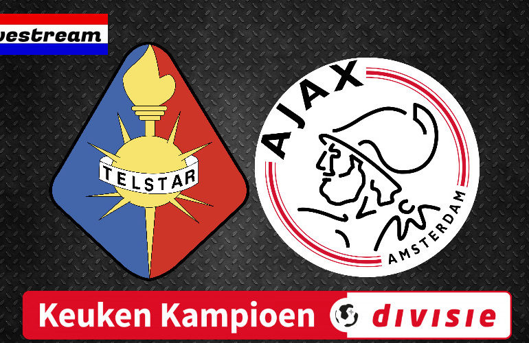 Telstar - Jong Ajax KKD voetbal livestream