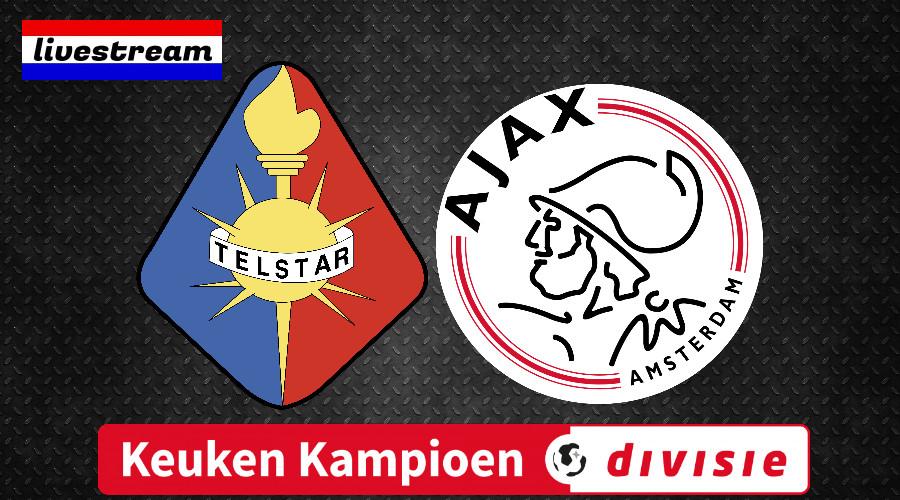 KKD livestream Telstar - Jong Ajax