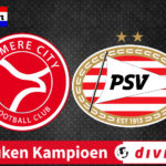 Kijk via deze livestream Almere City – Jong PSV