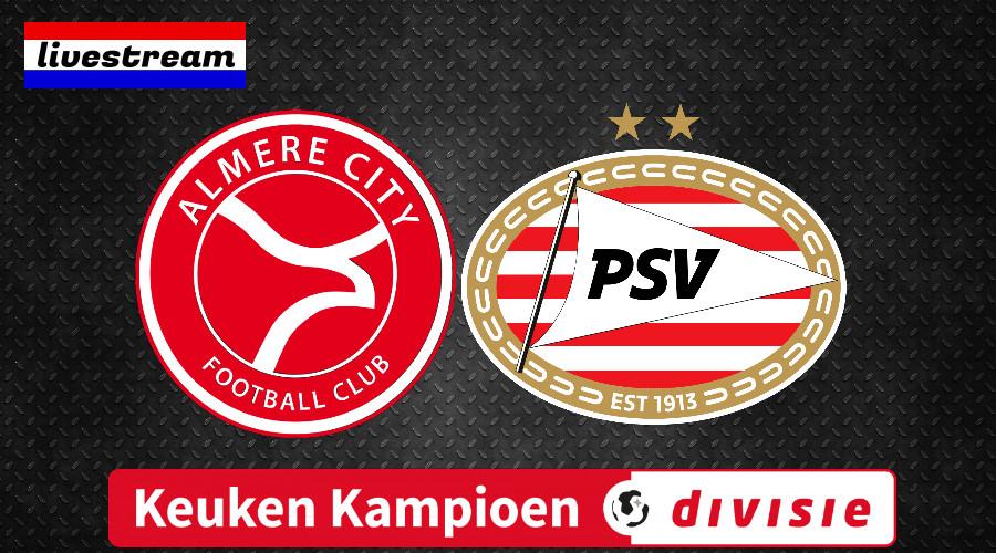 Kijk via deze livestream Almere City - Jong PSV