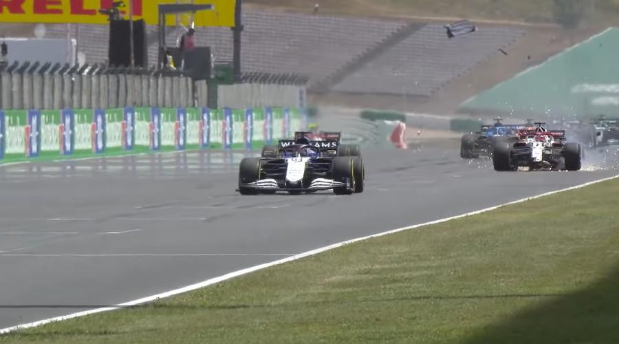 Kimi Raikkonen GP Portugal 2021