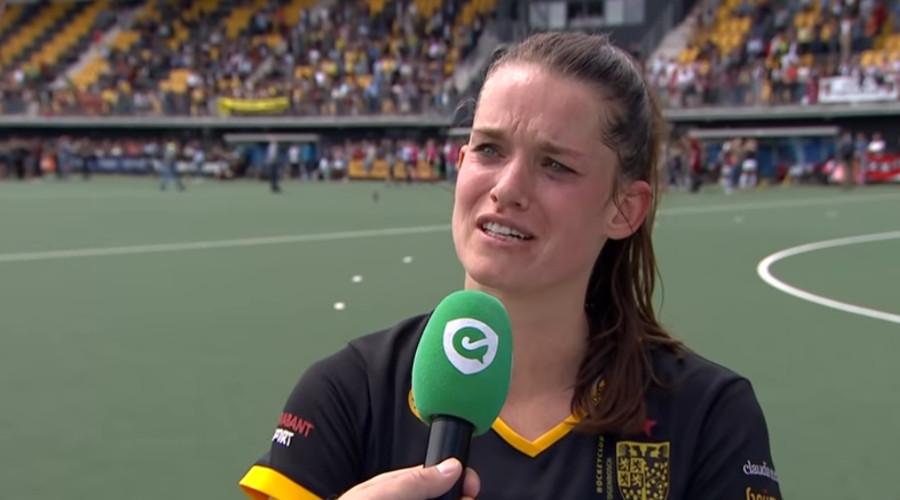 Lidewij Welten (Screenshot Hockey.nl)