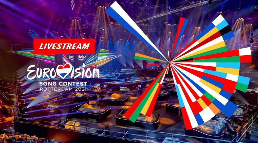 Live stream Eurovisie Songfestival Rotterdam 2021