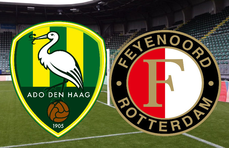Live ADO - Feyenoord kijken