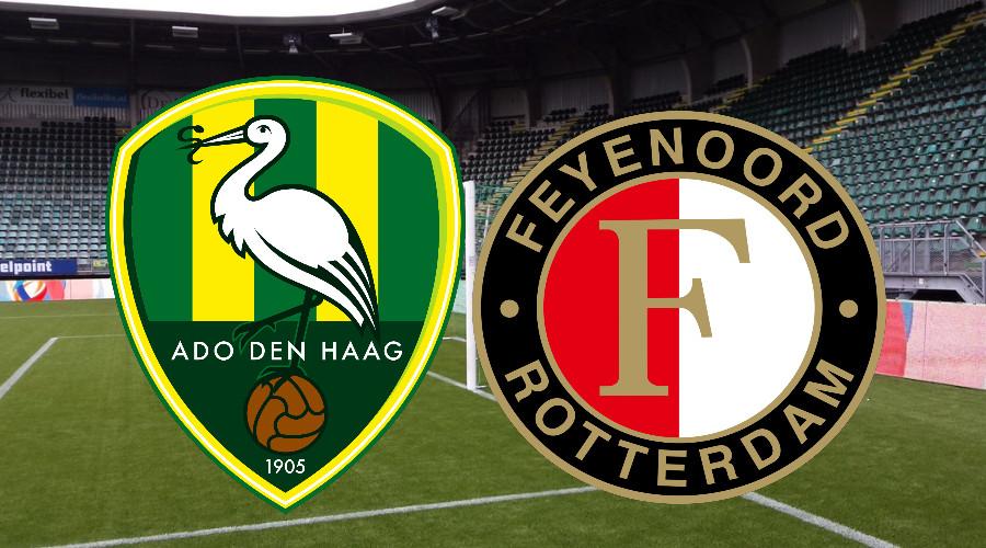Livestream ADO Den Haag - Feyenoord