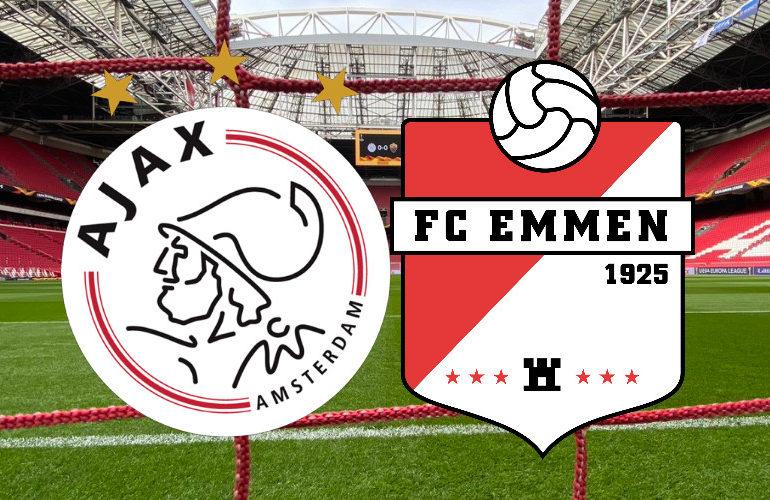 Live Ajax - FC Emmen kijken