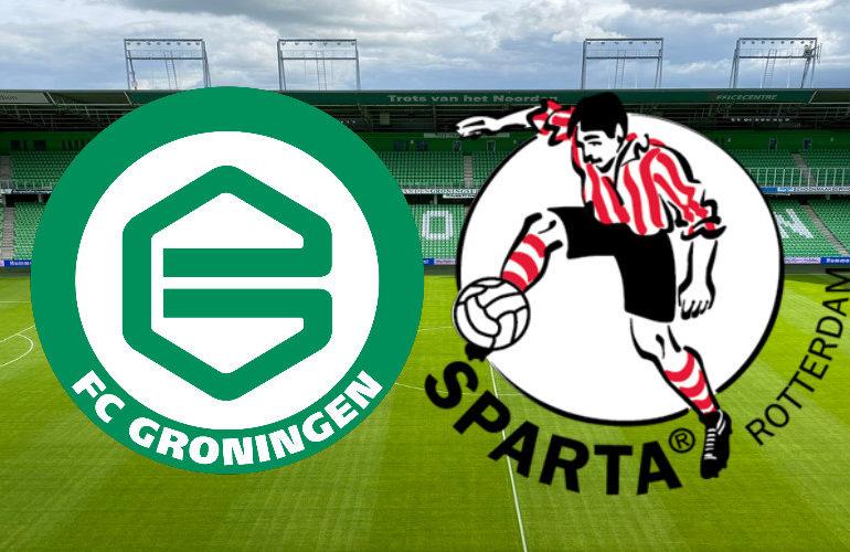 Live FC Groningen - Sparta kijken