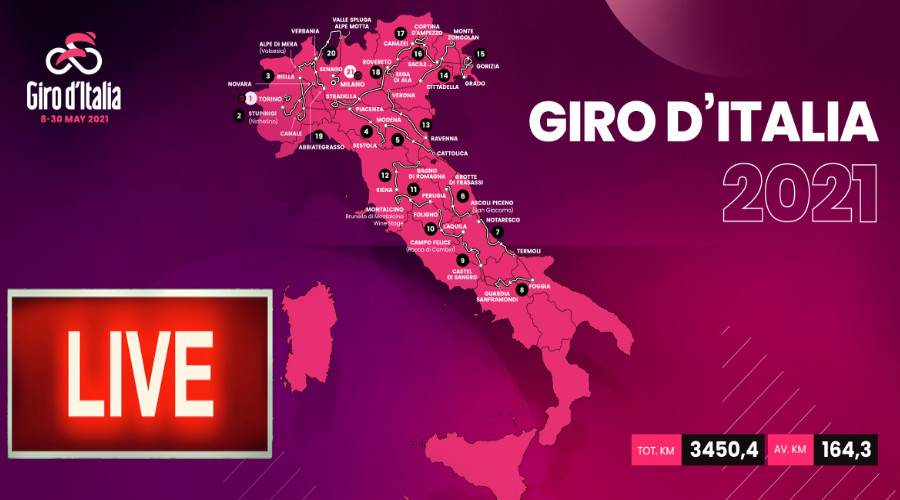 Livestream Giro d'Italia 2021