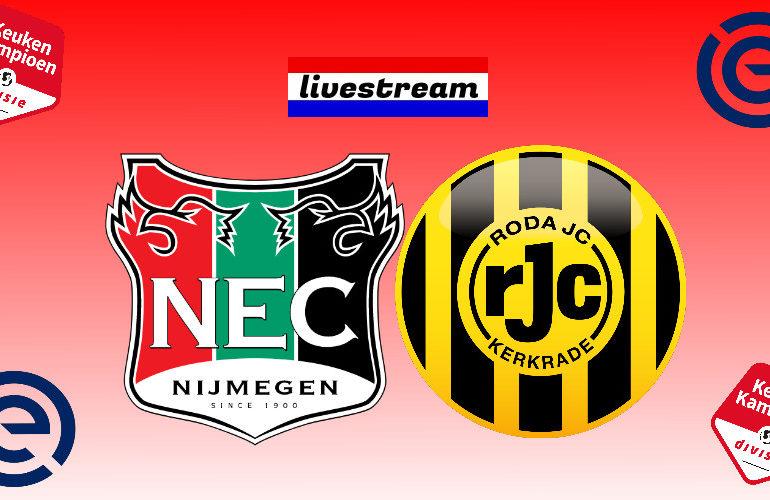 Livestream NEC - Roda JC