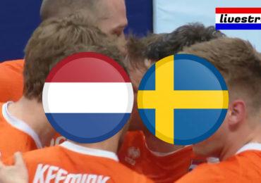 Volleybal livestream Nederland - Zweden