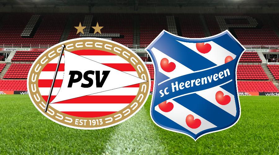 Livestream PSV - SC Heerenveen