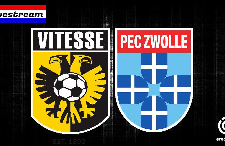 Vitesse - PEC Zwolle livestream