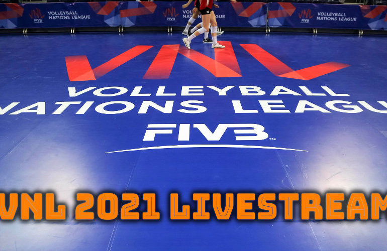 Livestream Volleybal Nations League 2021