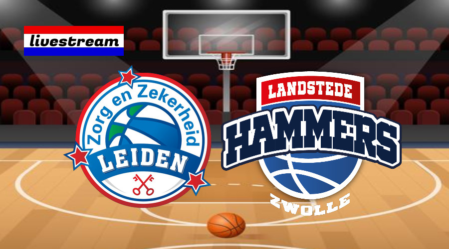 Livestream ZZ Leiden - Landstede Hammers