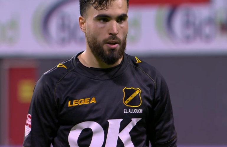 Mounir El Allouchi schiet NAC naar finale play-offs