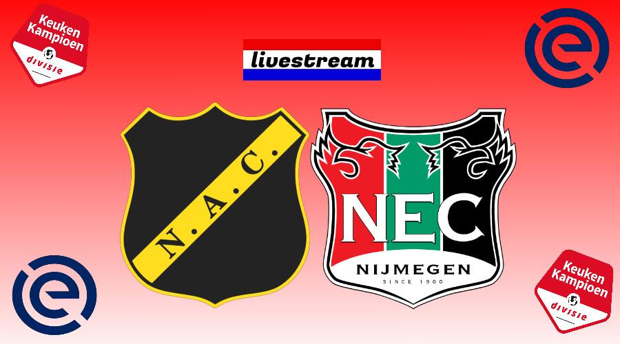 NAC Breda - NEC gratis livestream