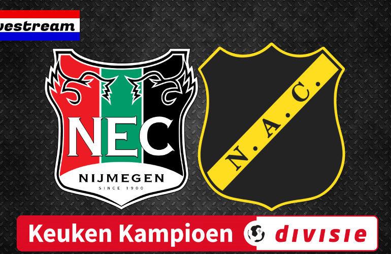 NEC - NAC live kijken