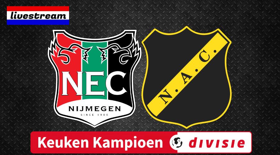 NEC - NAC kijken via een gratis live stream