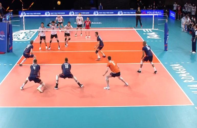 Volleyballers ook onderuit tegen Japan