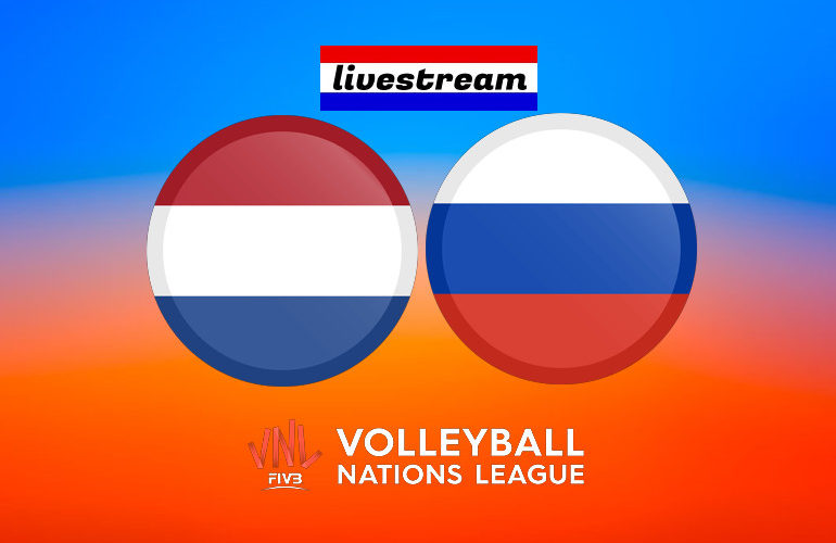 Livestream Nederland - Rusland | VNL 2021