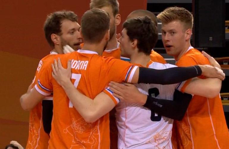 Volleyballers ook thuis te sterk voor Zweden