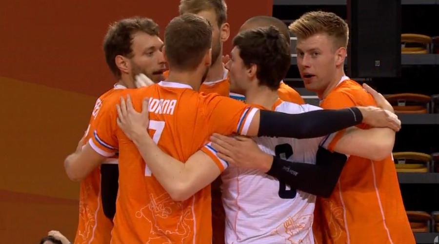 Nederland - Zweden volleybal