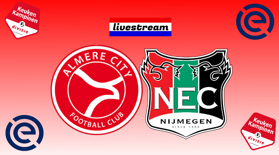 Play offs livestream Almere City FC - NEC