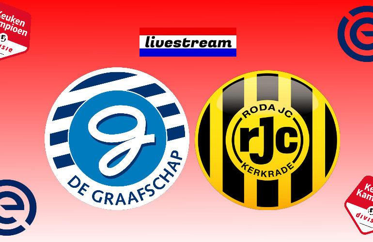 Play-offs livestream De Graafschap - Roda JC