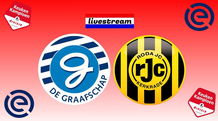 Play offs livestream De Graafschap - Roda JC