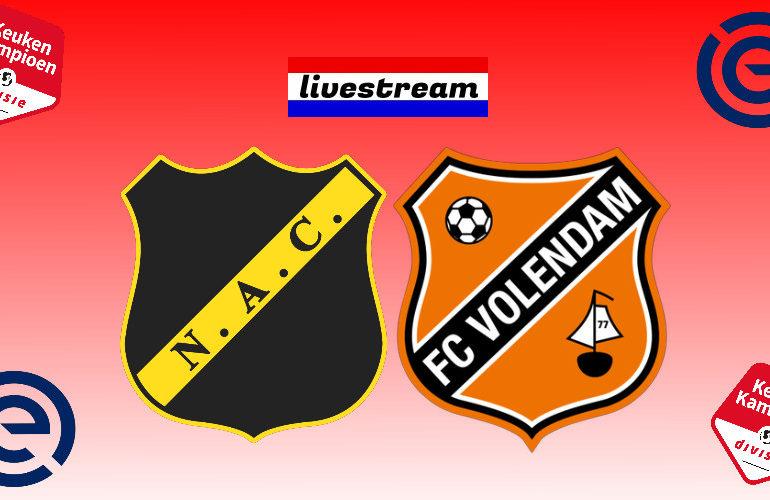 Play-offs livestream NAC Breda - FC Volendam